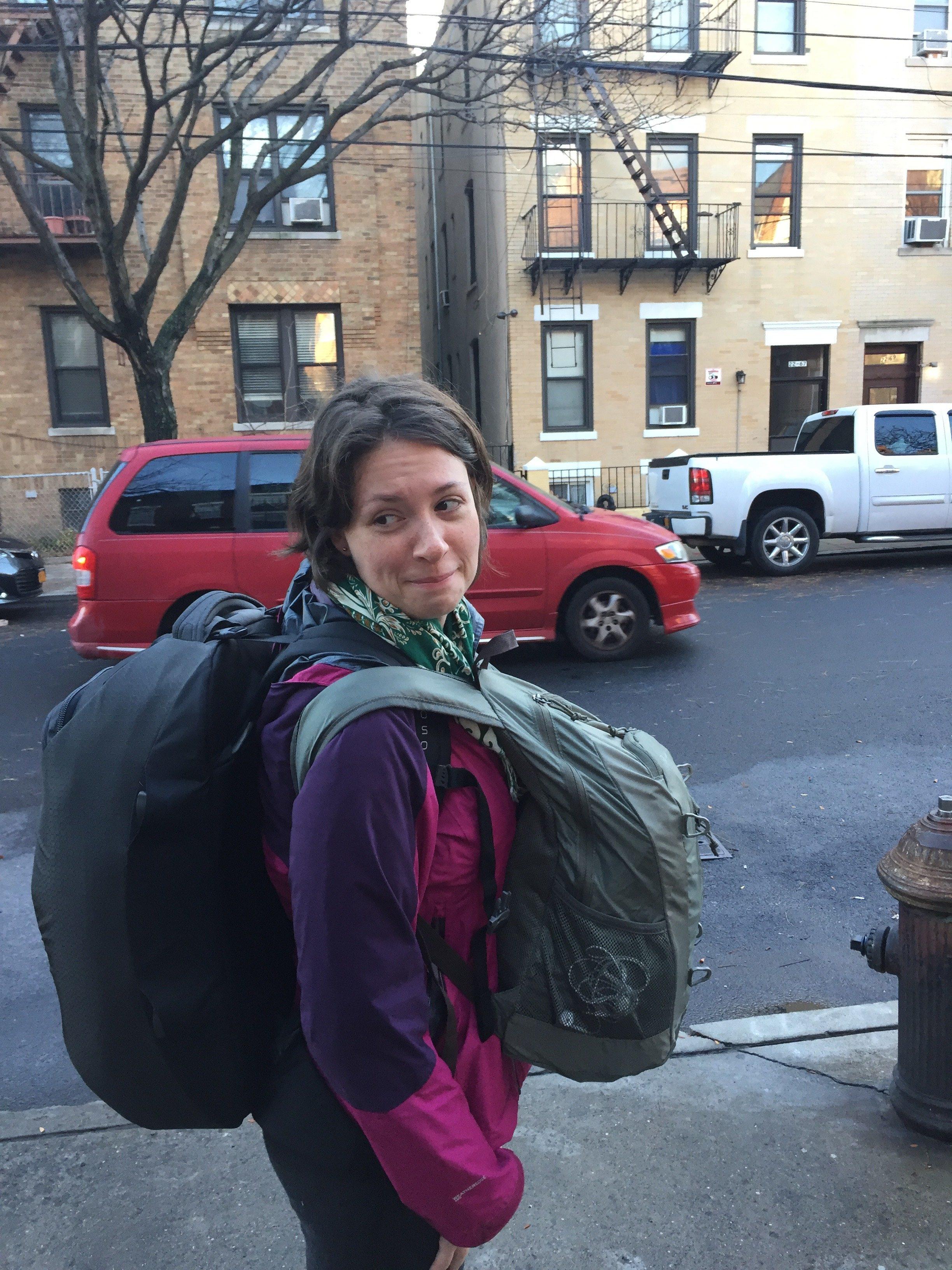 Natalie Leaving NYC
