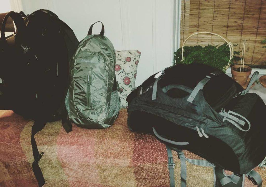 December 1-3: Leaving Home for Destination #1: Fiji