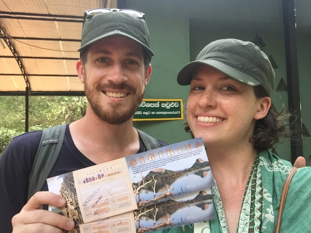 Sri Lanka: Day 3 in Sigiriya