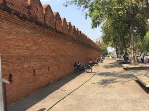 Chiang Mai Old City Wall