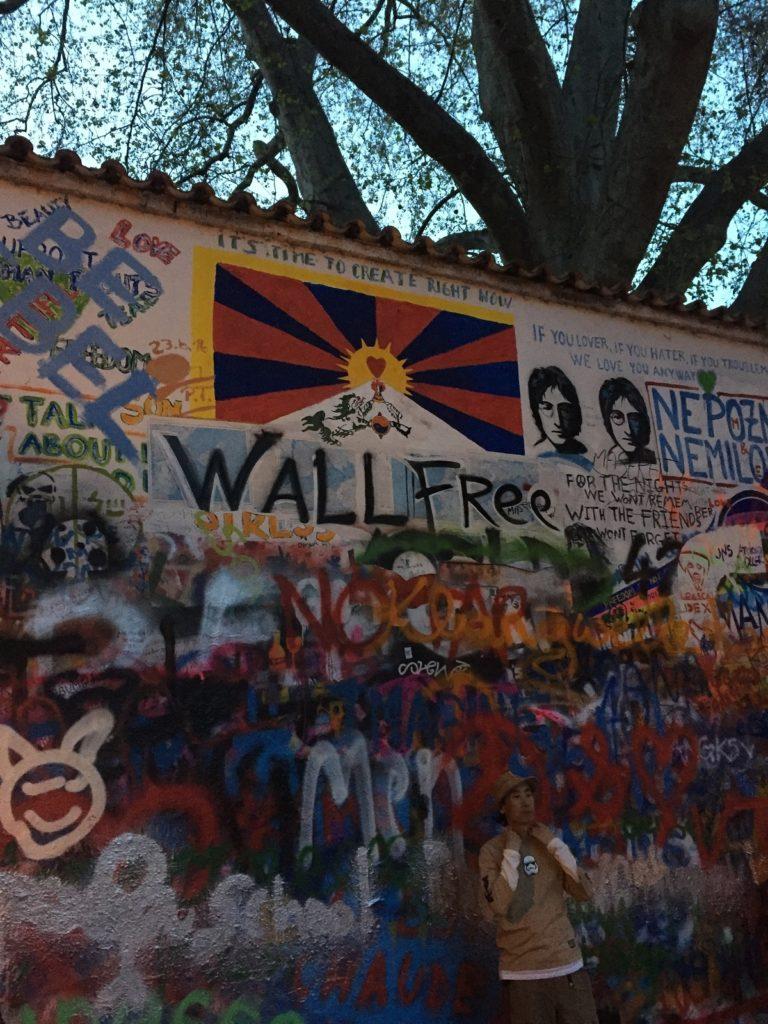 Lenin Wall in Prague
