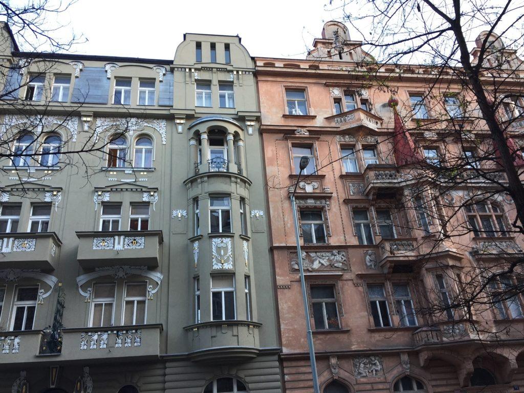 Buildings in Prague to go see