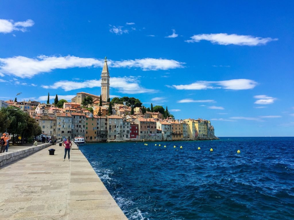 Rovinj in Istria, Croatia