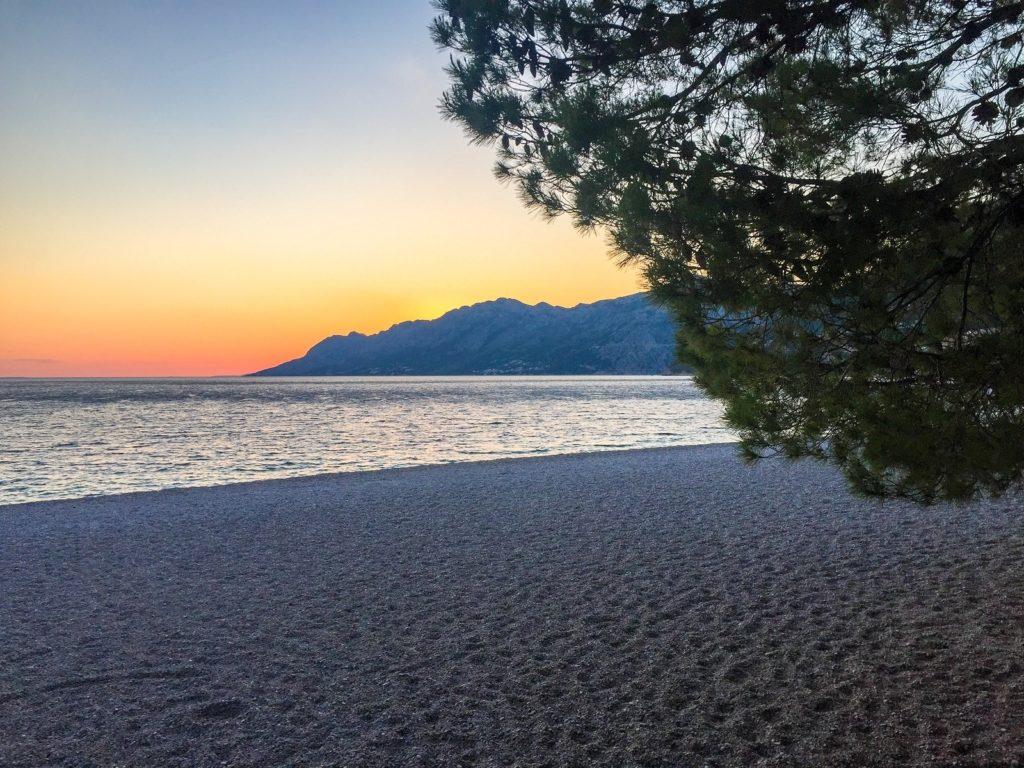 Beaches on the Dalmatian Coast