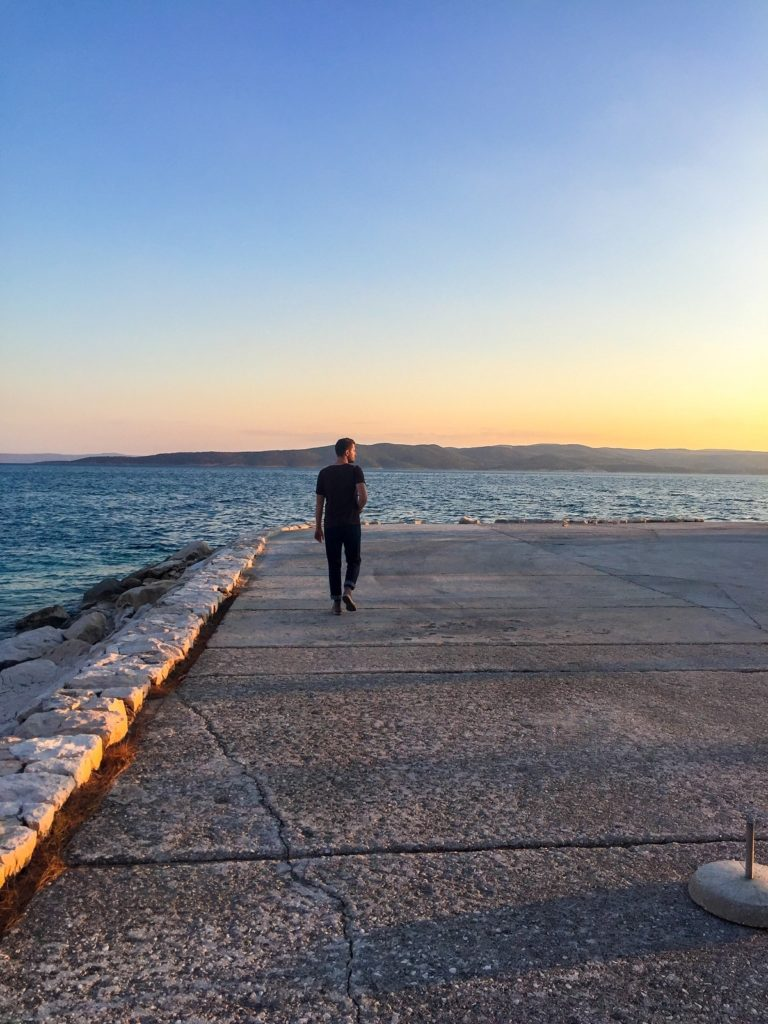 The Dalmatian Coast: a sunset in Croatia