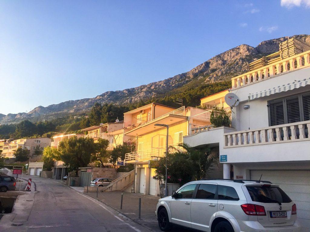 Brela on the Dalmatian Coast