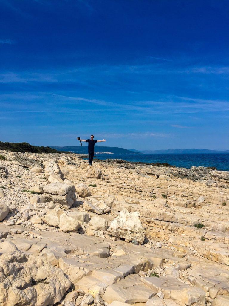 Our own beach in Istria, Croatia