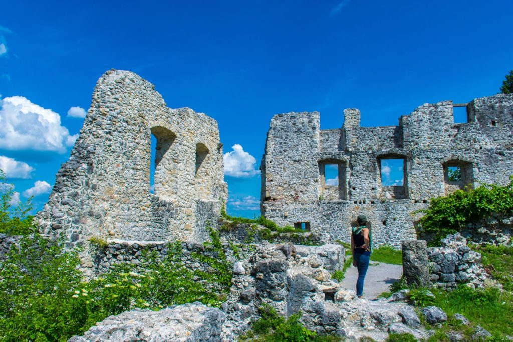 Ruins in Samobor, Croatia