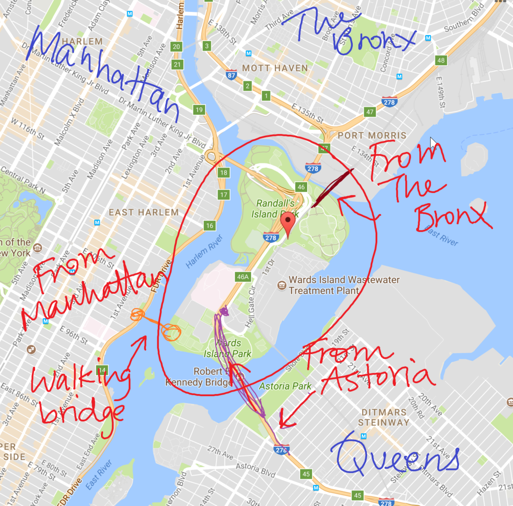 How To Get To Randall S Island From Queens