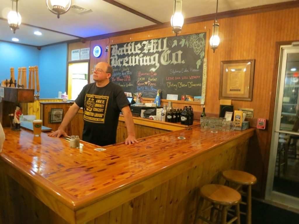 Battle Hill brewing company in New York State's Lake George region.