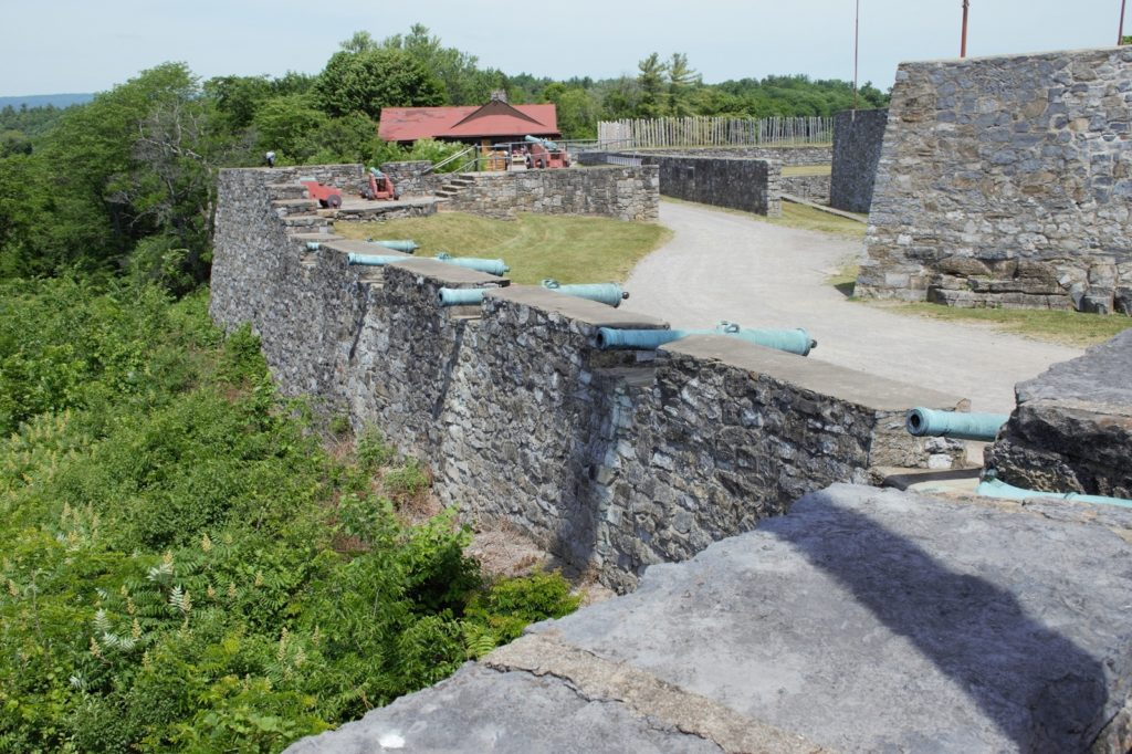 Fort Ticonderoga in New York State's Lake George area.