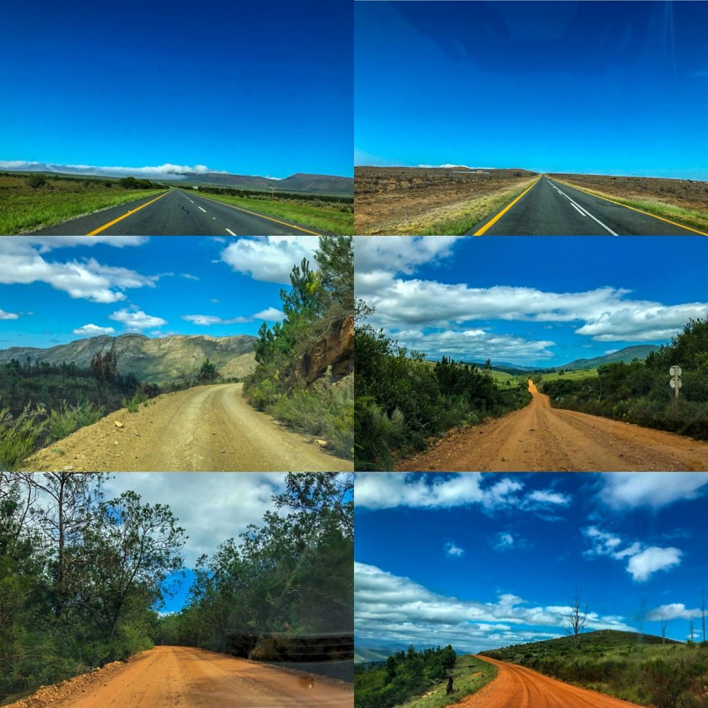 Different roads in South Africa