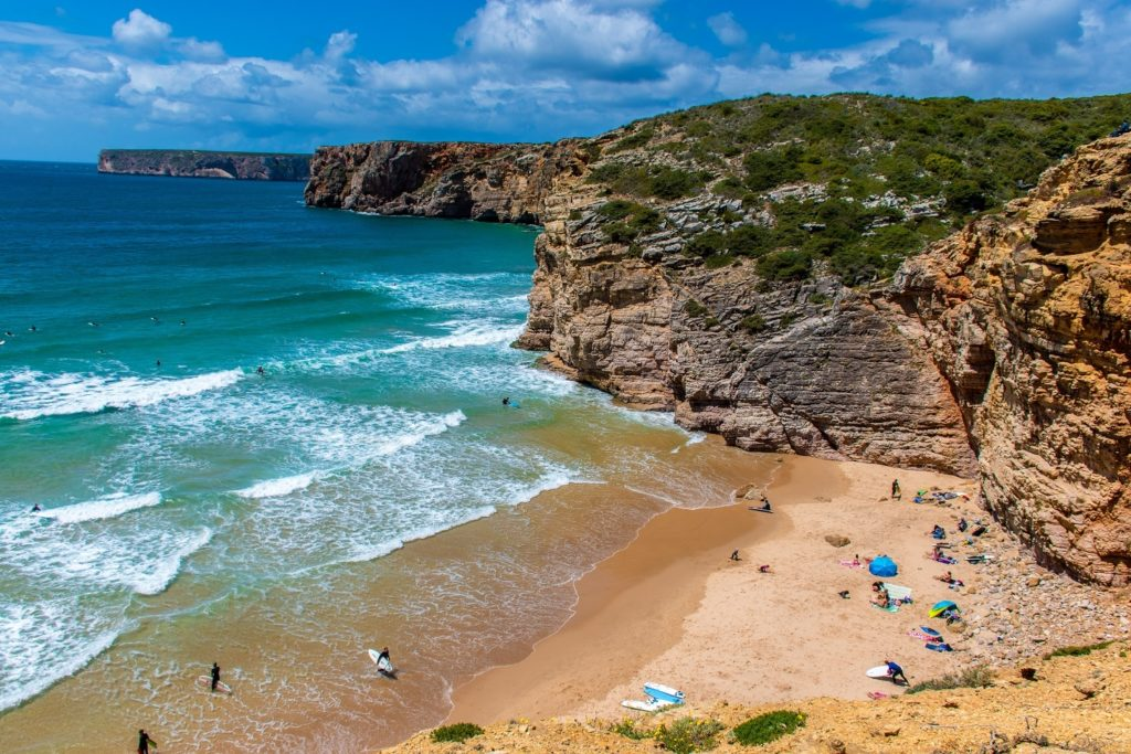The beaches in Algarve Portugal
